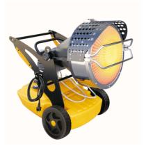 turbina cu aer cald cu infrarosu